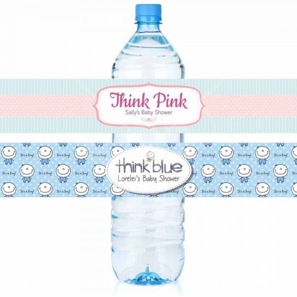 Custom Water Bottle Self Adhesive Labels Decor 2