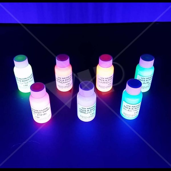 Prime Uv Black Light Neon Rave Body Glow Paint 1 Oz Home Remodeling Inspirations Genioncuboardxyz