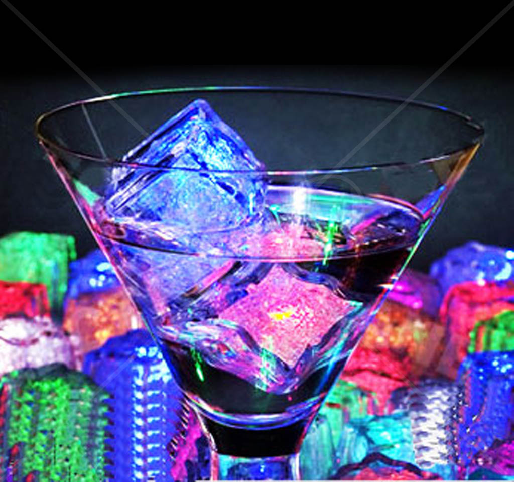 Liquid Activated Led Cubes On The Market Literally Just