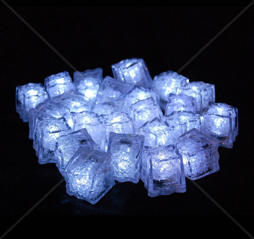 liquid activated led cubes on the market literally just drop them
