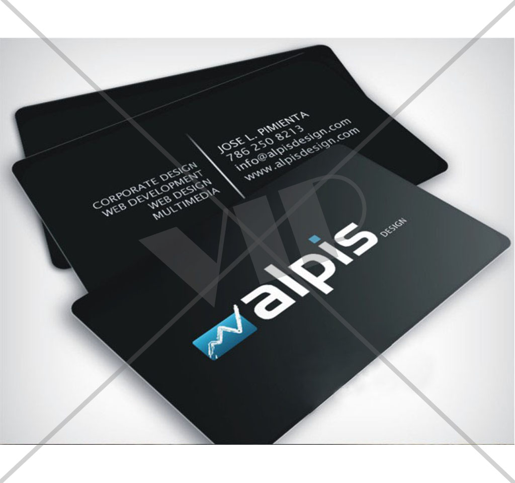 full color pvc plastic business cards new age business cards (1 ...