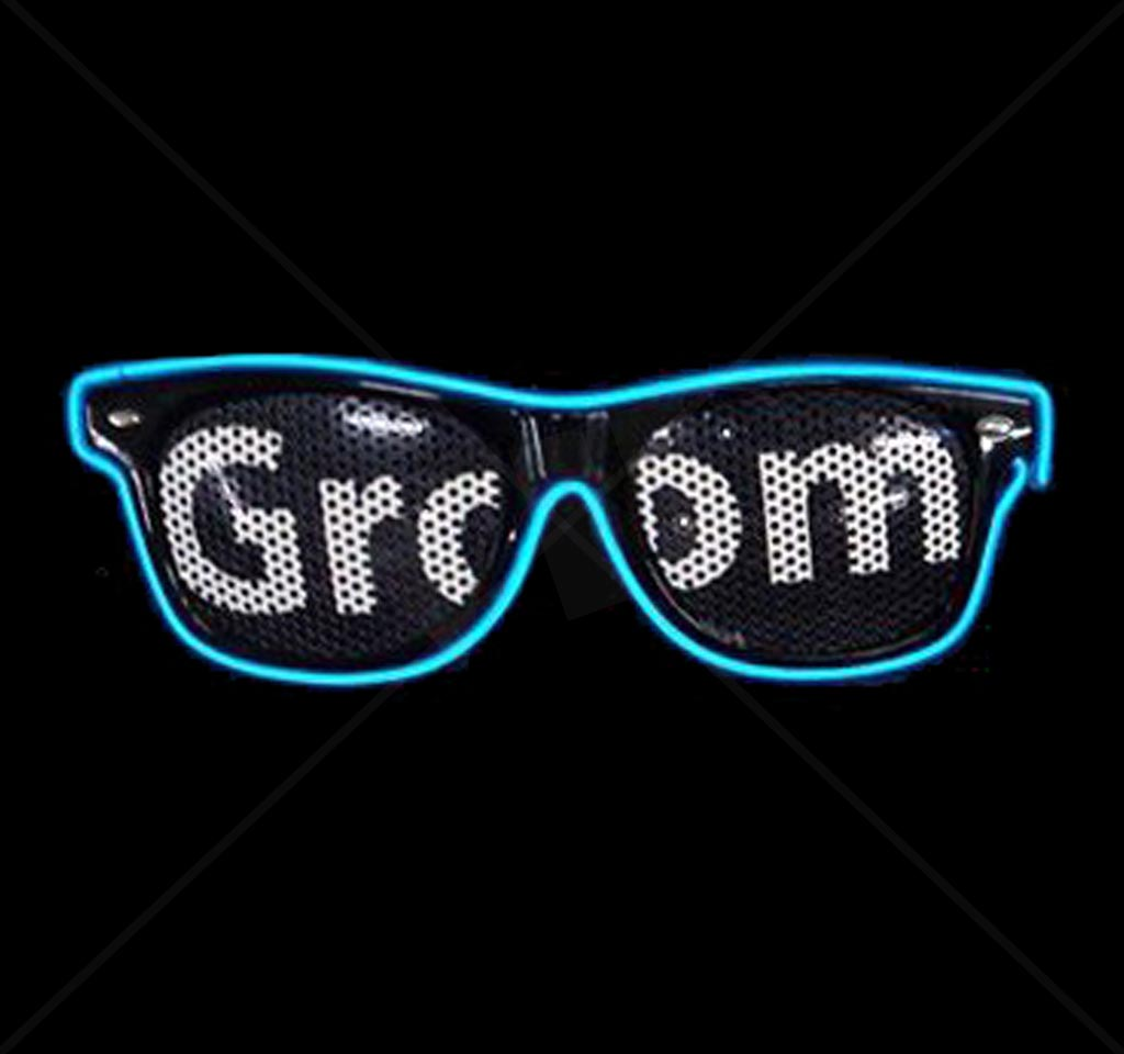 Ultimate Light Up Glow Glasses EL Wire Customizable LED