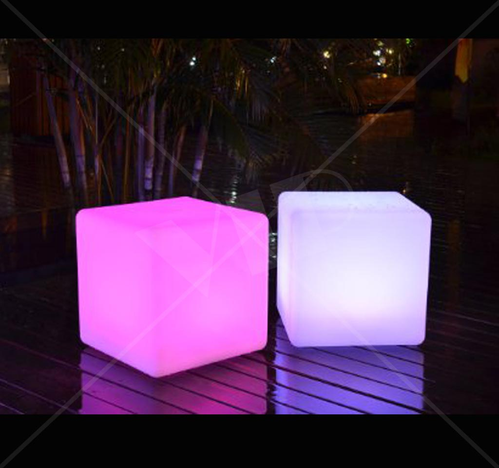 Led Furniture Cube 16 Quot Yolo Party Supplies